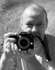 Pete with IR camera