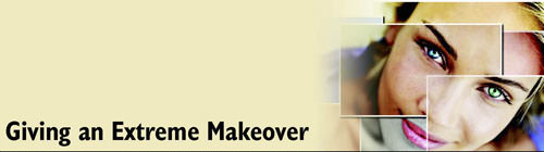 Corel PSPX Makeover Tools