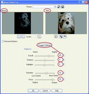 Corel PSPX Smart Photo Fix