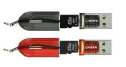 Kingston microSD reader
