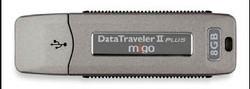 Kingston 8gb DataTraveller II Plus - Migo Edition
