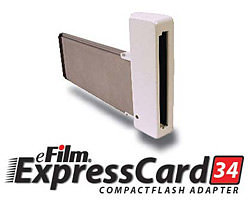 Delkin ExpressCard 34 CompactFlash adapter