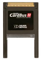Delkin UDMA CompactFlash CardBus Adapter