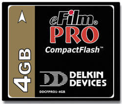 Delkin launch high capacity CF card for digital users