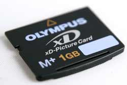Digital memory card group test