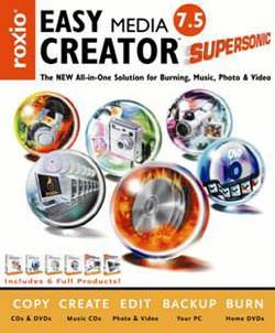 Easy Media Creator 7.5