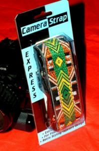 Epic retro hippie style camera straps for digital cameras released