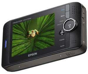 Epson P-4000 Multimedia Storage Viewer launched