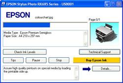 Epson Stylus RX685