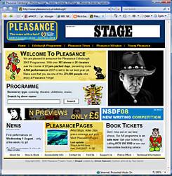 Pleasance Theatre at the Fringe 2007