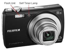Fujifilm Finepix F100fd Front