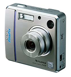 Fuji introduce FinePix F420 Zoom
