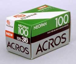 Fujifilm Neopan 100