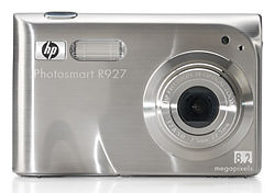 HP Photosmart R725, R727 and R927 announced