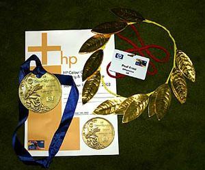 Hewlett Packard Colour Olympics Athens - inkjet printer launch