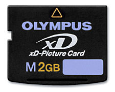 Olympus  Type M+ xD-Picture Cards