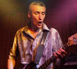 main photograph of band member