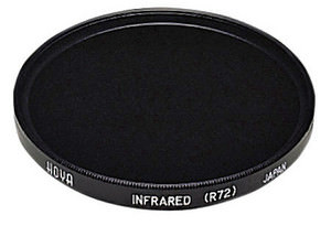 Hoya R72 Infrared filter now available in larger sizes