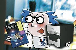 ICI Imagedata present Dr Olmec's Digital Imaging Surgery at Photokina 2004