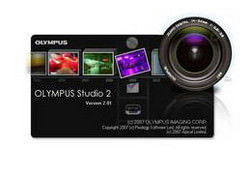 Olympus Studio 2.0 image editing software