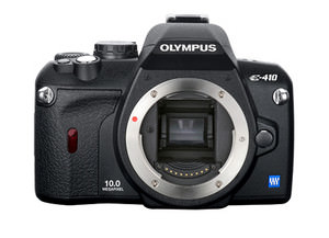 Olympus E-410 - compact DSLR with Live view mode launched