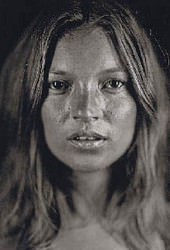 Kate Moss photographs at Christie's