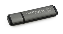 Kingston DataTraveler secure USB drives