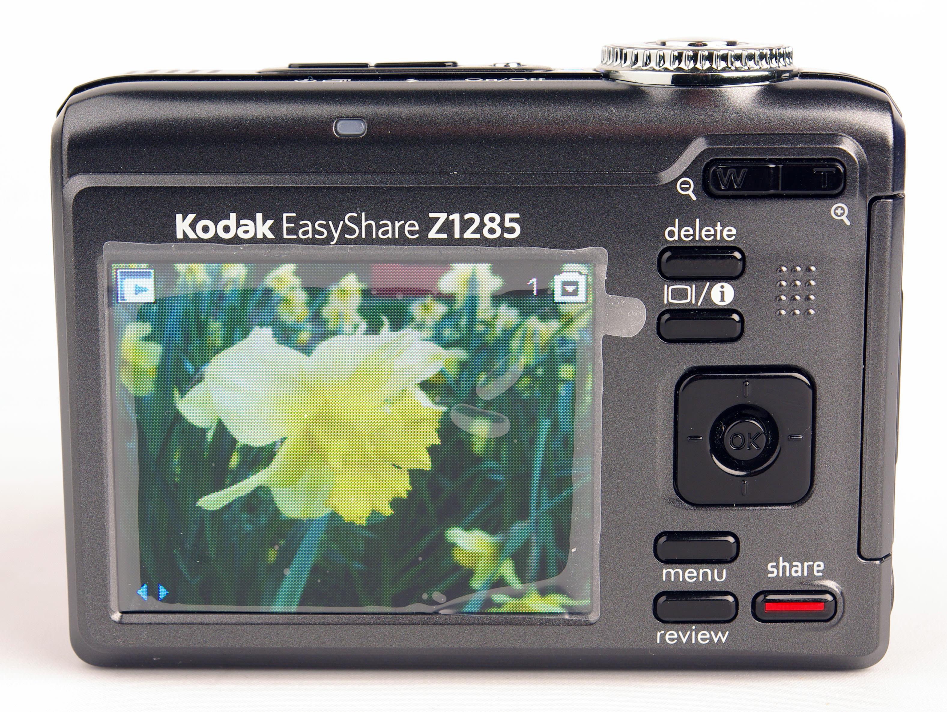 kodak easyshare z1285 digital camera review rh ephotozine com Kodak EasyShare Software Kodak EasyShare Software