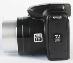 Kodak Z712 IS side view