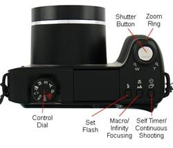 Kodak Easyshare Z8612 IS Top