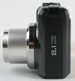 Kodak easyshare Z885 side view