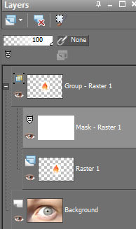 Layers in GIMP