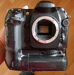 Gary's camera the Nikon D200