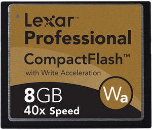 Lexar 133x CompactFlash and SD cards with write speeds up to 20MB/s announced