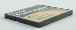 Lexar Professional UDMA 4Gb compactflash 300x diagonal view