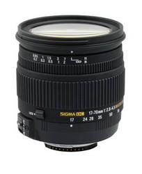 Sigma 17-70mm Macro and 18-50mm Macro