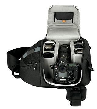 Camera goodies stuffed inside