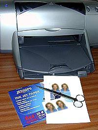 Make your own passport photos