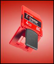 Sandisk Extreme Ducati CF and SD memory cards