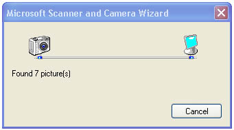 Windows XP Scanner & Camera Wizard