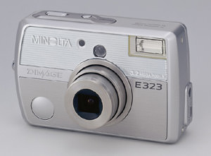 Minolta DiMAGE E323 digital compact announced