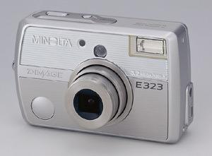 Minolta DiMAGE E323 digital compact announced