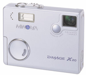 Minolta DiMAGE X20 ultra-compact digital camera unveiled
