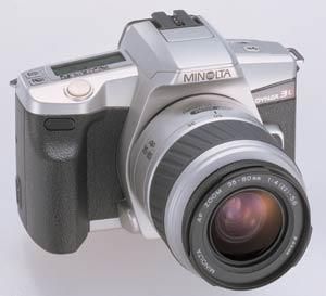 Minolta Dynax 3L 35mm SLR unveiled