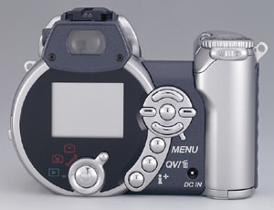 Minolta Z1 with 10x optical zoom and 3.3 megapixel CCD