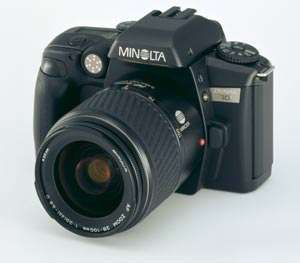 Minolta add the Dynax 60 to their SLR range