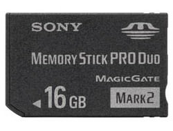 Sony Memory Stick PRO Duo 16Gb
