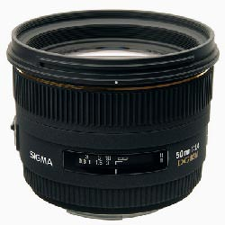 Sigma 50mm F1.4 EX DG HSM for Four Thirds