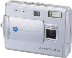 New from Konica Minolta, the DiMAGE X50