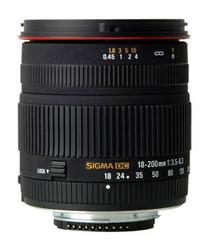 Sigma 18-200mm f/3.5-6.3 DC lens